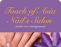 Nails Salon Voucher and Menu design