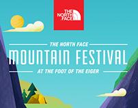 The North Face Mountain Festival - Microsite
