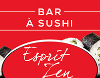 Esprit Zen / Bar à sushi