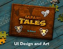 Safari Tales - UI Design and Art