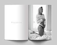 Calvin Klein Mock Ad