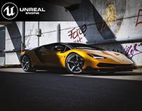Lamborghini Centenario Full CGI UE4