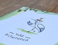 Julia, la chef-tífica (cuento infantil)