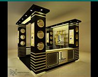 J. Fragrances Stall Design