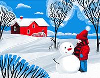 Winter Wonderland: Cozy Winter Illustrations