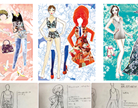 Paper Dolls produced by Marony.TOKYO