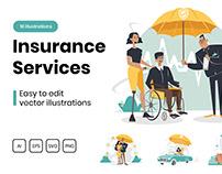 M314_ Insurance Illustrations