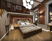 Progect Loft interior