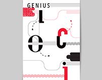 Projekt katalogu do wystawy GENIUS LOCI