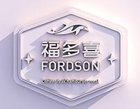 福多喜餐饮品牌形象设计