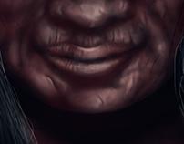Digital Painting_Old Woman Portrait