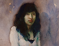 Portrait of girl.