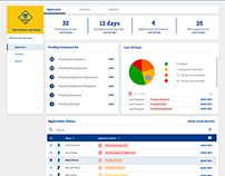Application Manager Dashboard