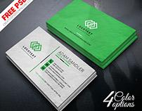 Corporate Multipurpose Business Card PSD Freebie