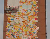 Mural in Shenzhen ⚓️ The Cruise
