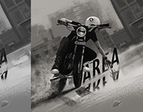 Area (Graphic Novel Cover)