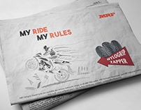 MRF TYRES | NEWSPAPER ADVT