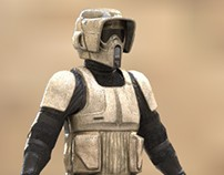 Scout Trooper - Star Wars -  Texture Test