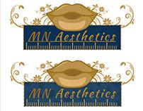 MN Aesthetics logo work