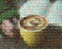 Mosaic of Thank Yous for a Coffee Event - Clarkson Univ