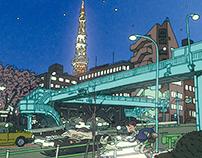 100 Views of Tokyo(36〜40)