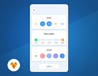 Filters - Day96 My UI/UX Free SketchApp Challenge