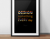 Design Something Poster