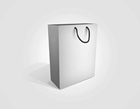 Kilojo Resource #10: FREE PSD MOCKUP | Shopping Bag |