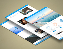 Design a full site and download it from PSD to WordPres
