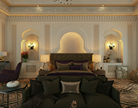 Master Bedroom Interior Design Moroccan arabian style