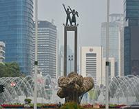 Photojournalism-Reminiscing Bamboo Artwork Jakarta