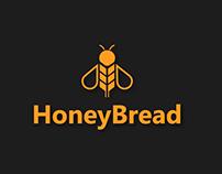 Creative Logo Design for HoneyBread