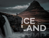 landing page Iceland