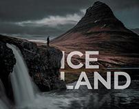landing page Iceland