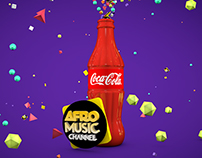 Bumper Coca-Cola for Afro Music Channel