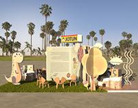 Jotun activation booth