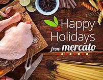 Mercato Holiday Hero - Image Editing