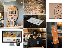 Crust Pizza Co. Brand Identity and Brand Expressions