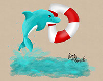 Dolphin #ABCChallenge on instagram