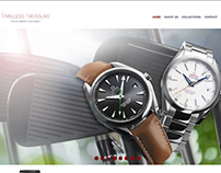 Timeless Treasure Luxury Watch Co. Web Design