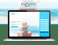 Landing Page - Franquia Cozumel