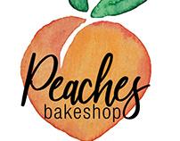 Peaches Bakeshop Logo