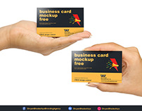 Free PSD - Horizontal Business Card 2 Download