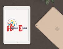 Happinezz Events Logo Design