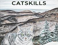Winter Catskill Cat