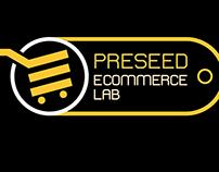 Preseed Ecommerce Lab Logo Mockup