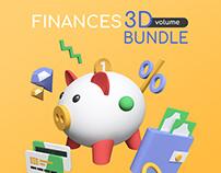 Finance 3D Bundle