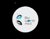 Bioworldmed Logo Design and Brand Identity.