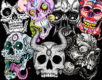 ABNORMAL PERSPECTIVE SKULL COLLABORATION