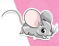 little mouse illustration